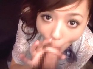 Hottest Japanese model Aino Kishi in Fabulous Blowjob JAV scene
