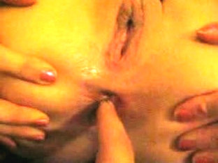 Mouth and anus fingered