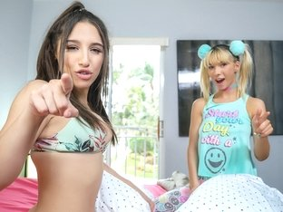 Abella Danger & Kenzie Reeves in A Sneaky Threesome Situation - ShareMyBf