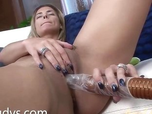 Alana Luv Tests Out a New Vibrator
