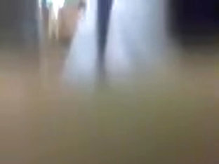 Hawt gal on the public bus teasing me with her hot round butt