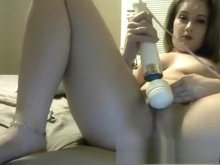 Anal fingering amp toying her tight holes on webcam