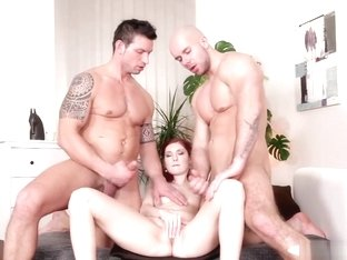 Assfucking Jocks Spitroasting A Redhead Babe