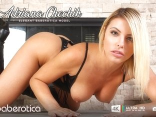 Hot Adriana Chechik Loves Pleasuring Her Tight Bumhole - Baberotica