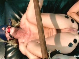Bombshell MILF Simone is Back for More Electrosex!