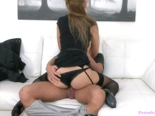 Incredible pornstar in Crazy Stockings, Redhead adult video