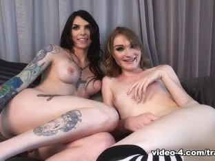 Chelsea Marie & Jenny Flowers in Behind the Scenes with Chelsea Marie and Jenny Flowers - Trans500