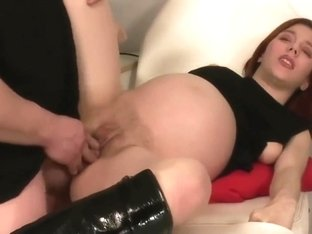 Pregnant slut banged by a husband at hospital-www.pregnantfetishtube.com
