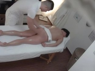 Czech Massage 8 Brunette gets a happy ending massage