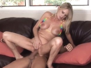 Hot sexual intercourse of sexy Bridgett Lee