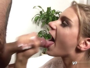 Slutty blonde takes every hard inch of cock deep in her tight butt