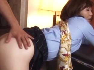 Sayuri Kinsei naughty mature Asian gal is horny stewardess