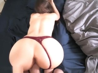 Tight girl wakes up and gets...