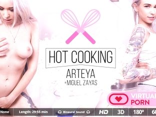 Arteya  Miguel Zayas in Hot cooking - VirtualRealPorn