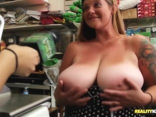Huge Titty Weigh Off