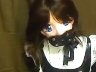 Kinky Japanese whore in a weird BDSM game
