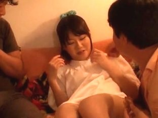 Amazing Japanese slut Yurika Miyaji in Hottest Handjob, Creampie JAV movie