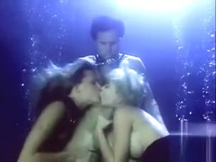 Hardcore underwater sex with an orgasm for the diver