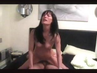Hot milf invited neighbour guy to fuck her