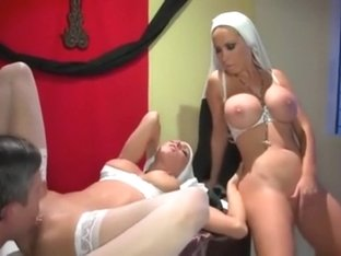 Priest Fucks 2 Hot Nuns