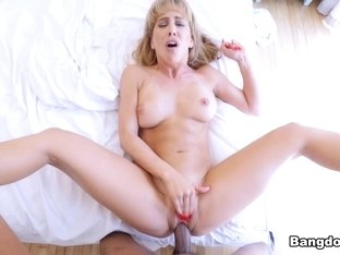 Cock Hungry MILF Finally Got Her Nut - BangBros