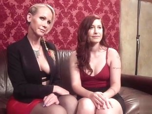 Lesbian porn video featuring Simone Sonay and Charli Piper