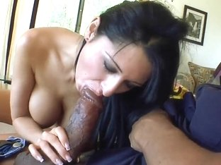Young girl Alison Star makes blowjob to her friend with big cock