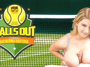 Katerina Hartlova in Balls Out - VRBangers