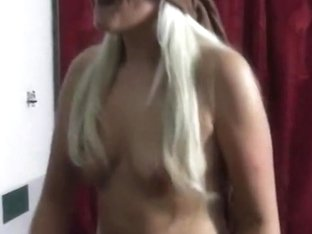 Nasty blond MILF does lapdance and deep BJ