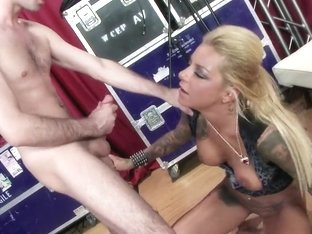 Pornstars Like it Big: She's Ready to Cock and Roll. Britney Shannon, James Deen