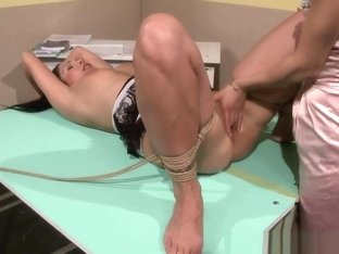 Have and pussyfingered tiedup eurobabe dominated have hit the