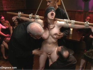 Hot 19 Year Old Slut Does Her First Boy/Girl Shoot Ever - PublicDisgrace