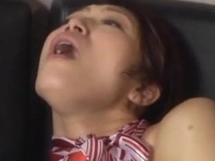 Reiko Kobayakawa nasty stewardess hard fucked by guys