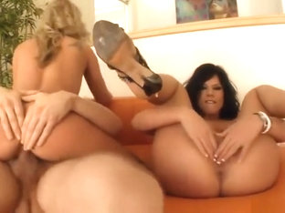 Blowjob sex video featuring Addison Oriley, Stef and Kayla