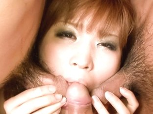Incredible Japanese chick Ai Sakura in Exotic JAV uncensored Creampie movie