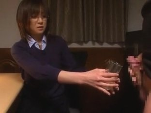 Fabulous Japanese model Ai Komori in Crazy Office JAV movie