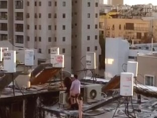 Israeli fuck on roof