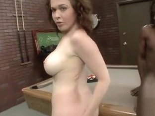 Buxom redhead mom Mae Victoria takes a black prick in her hairy peach