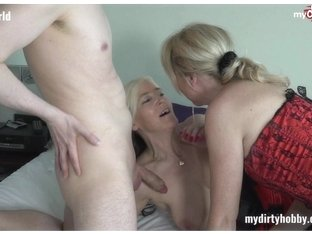 Hot German MILFs going avid