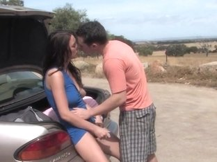 Aussie couple fucking outdoors