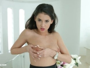 Coco De Mal gets a messy creampie in All Internal scene