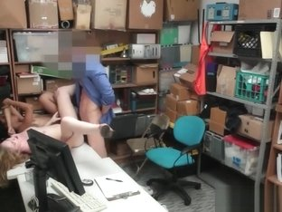 Slutty Bonnie Grey Punished For Shoplifting