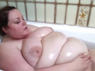 Ssbbw double belly shower