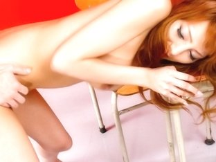 Crazy Japanese whore Aizawa Ren in Amazing JAV uncensored MILFs movie