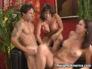Ava Devine & Vanessa Videl & Alan Stafford in My Friends Hot Mom