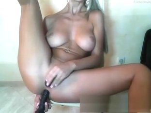 unfathomable anal blond toy