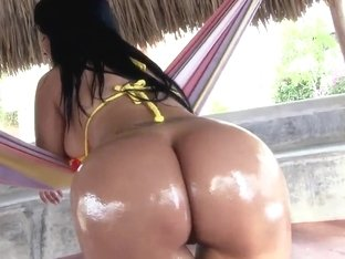 Latino hottie Paola gets her wet cunt drilled hard