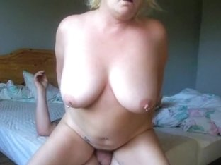 Home couple fuck at 69