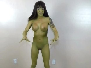She hulk Transformation