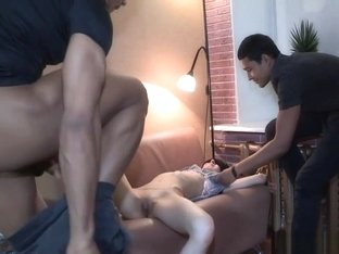 Restrained Gf Banged By Stranger